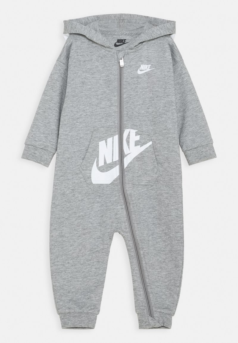 Nike Sportswear - HOODED BABY COVERALL UNISEX - Mono - grey heather