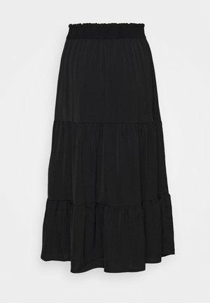 SUNNY SKIRT - Plisovaná sukně - black