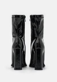 Koi Footwear - VEGAN  - Ankelboots med høye hæler - black - 3