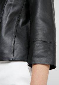 MAX&Co. - DENOTARE - Leather jacket - black - 4