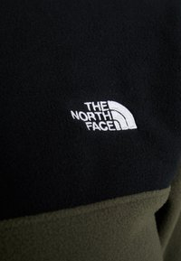 The North Face - GLACIER SNAP NECK  - Felpa in pile - new taupe green/black - 5