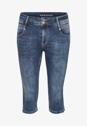 DHMALIKA - Denim shorts - medium blue wash