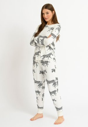 ZEBRA - Pyjamas - white