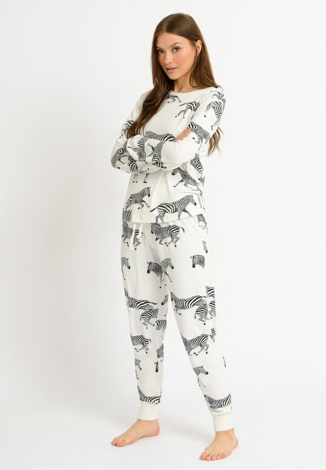 ZEBRA - Pyjamas - white