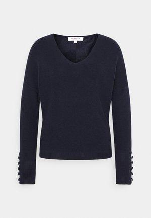 MIEN V-NECK - Pullover - marine