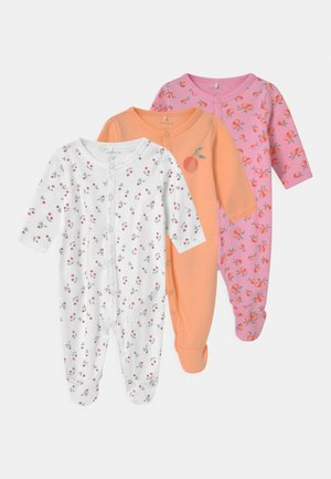 NBFFADINE 3 PACK - Sleep suit - snow white