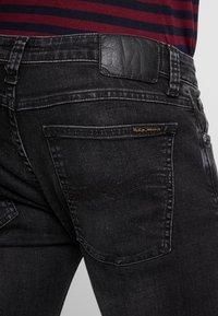 Nudie Jeans - SKINNY LIN - Skinny-Farkut - worn black - 3