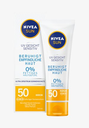 UV FACE SOOTHING SENSITIVE SPF 50 - Zonnebrandcrème - -