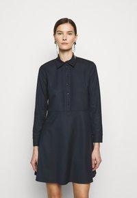 MAX&Co. - AUGURI - Košilové šaty - midnight blue - 0