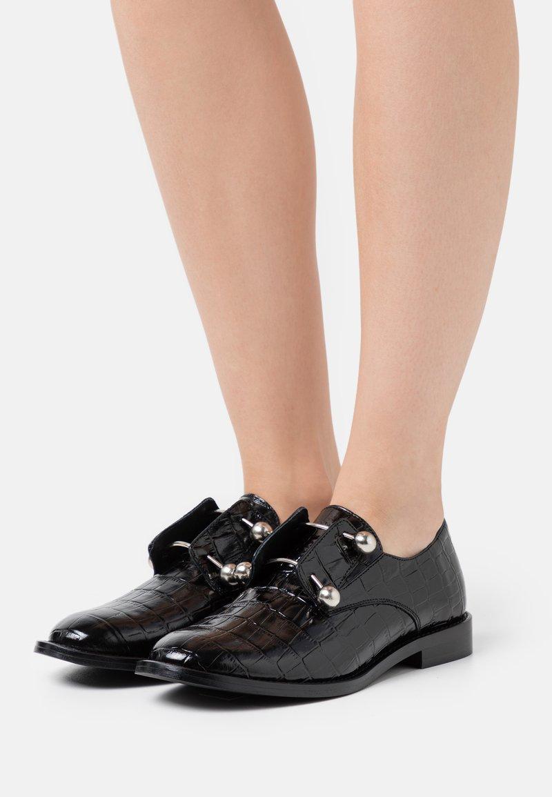 Jonak - DUTHEN - Nazouvací boty - noir