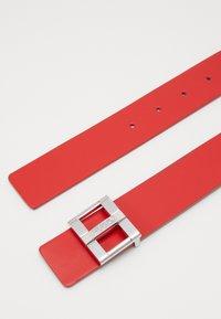 HUGO - ZITA BELT - Pásek - red - 3