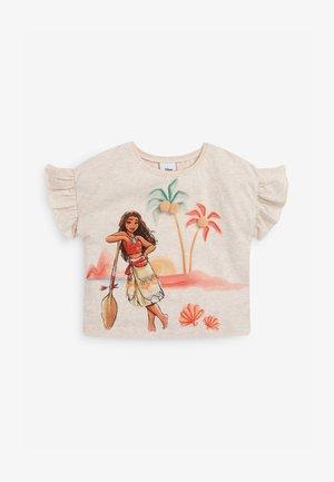MOANA - Camiseta estampada - off-white