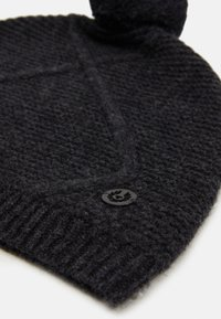 Belstaff - BEAUFORT HAT - Čepice - deep charcoal