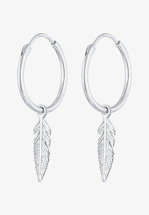 FEDER  - Earrings - silber