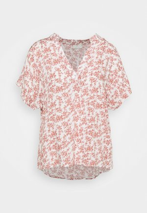 LUPE BLOUSE - Printtipaita - white/misty rose