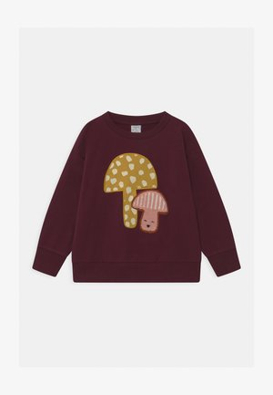 KIDS MUSHROOM PLACED PRINT - Sweatshirt - dark lilac
