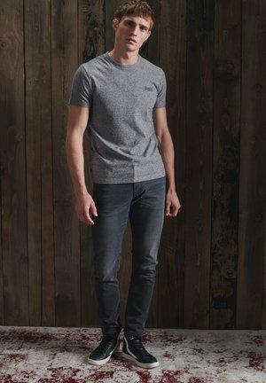 OL VINTAGE EMB  - Basic T-shirt - stone grey feeder
