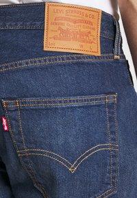 Levi's® - 501 HEMMED UNISEX - Denim shorts - roast beef - 4