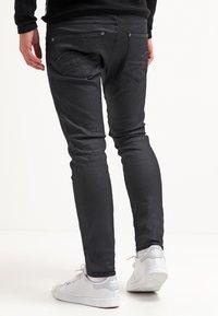 G-Star - REVEND SKINNY - Jeans Skinny Fit - black pintt stretch denim - 2