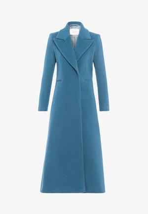 MIT GROSSEM REVERS - Classic coat - smoked saphire