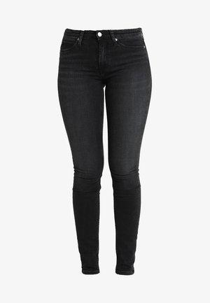 CKJ 011 MID RISE SKINNY  - Jeans Skinny Fit - stockholm black