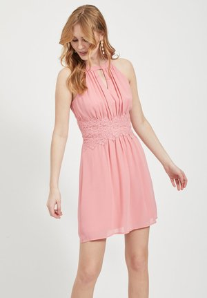VIMILINA HALTERNECK - Cocktail dress / Party dress - brandied apricot