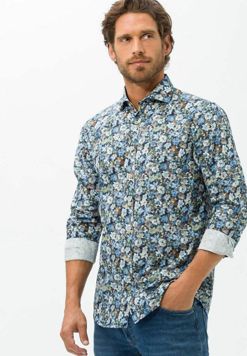 BRAX - STYLE HAROLD  - Shirt - blue denim