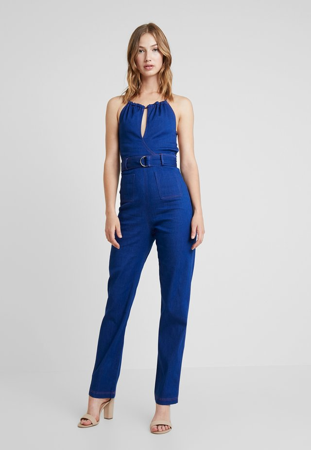 EZRA - Jumpsuit - blue
