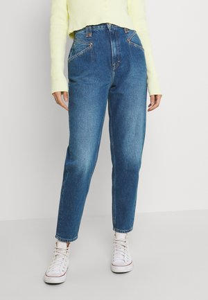 MOM  - Jeansy Relaxed Fit - denim medium