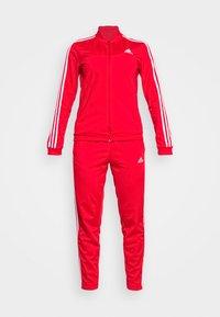 adidas Performance - Tracksuit - vivid red/white - 4