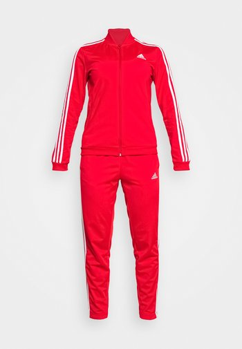 Tracksuit - vivid red/white