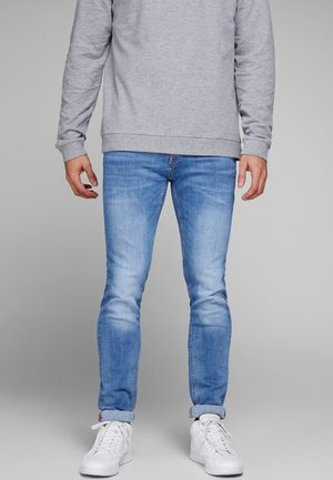 TIM ORIGINAL  - Džíny Slim Fit - blue denim