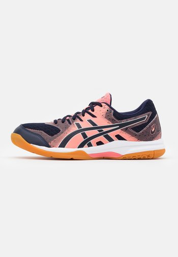 GEL ROCKET 9 - Volleyball shoes - guava/midnight