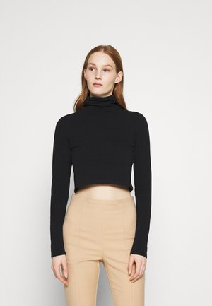 EVERYDAY CHOP MOCK NECK LONG SLEEVE - Topper langermet - black