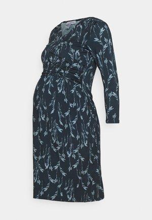 DIVINE  - Jersey dress - blue