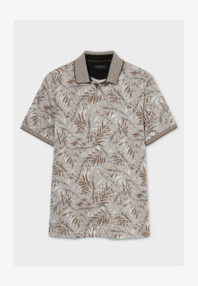 Poloshirt - hellbraun