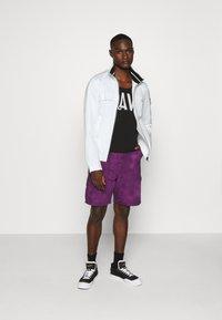 Calvin Klein Jeans - ZIP UP HARRINGTON - Summer jacket - bright white - 1