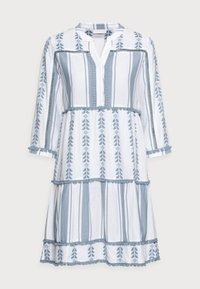 Rich & Royal - Day dress - smoked blue - 4