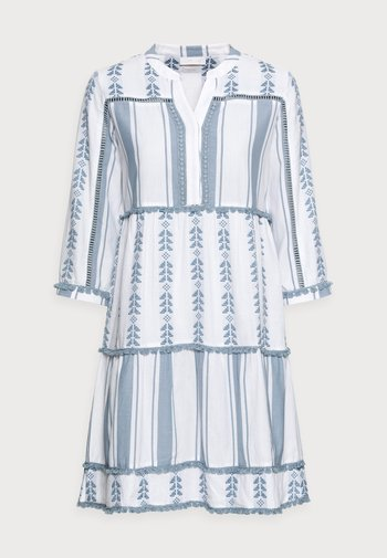 Day dress - smoked blue