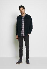 Burton Menswear London - CHUNKY  - Skjorta - navy - 1