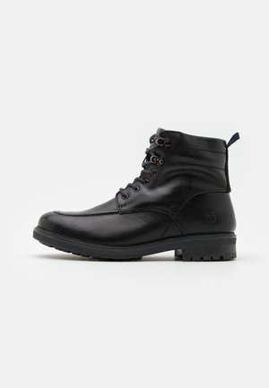 OAKROCK WP ZIP BOOT - Bottines à lacets - black