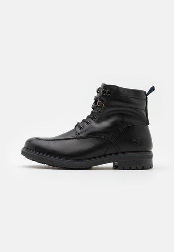 OAKROCK WP ZIP BOOT - Snörstövletter - black
