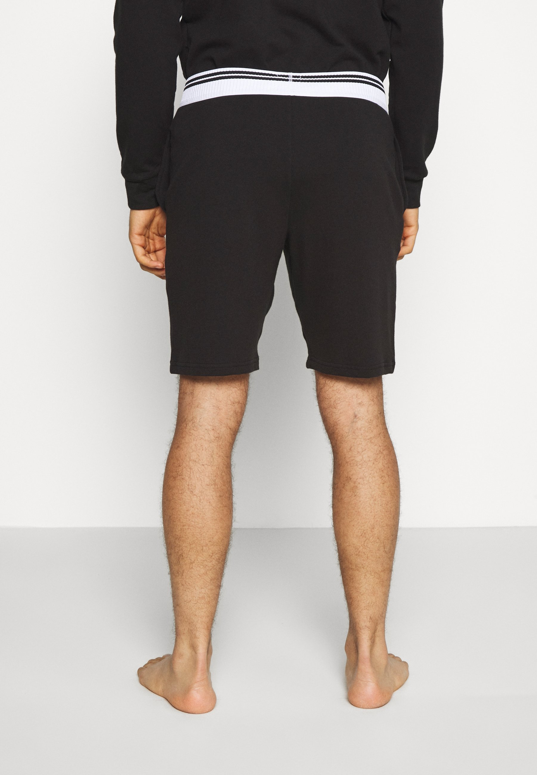 Calvin Klein Underwear SLEEP SHORT - Pyjamasbukse - black