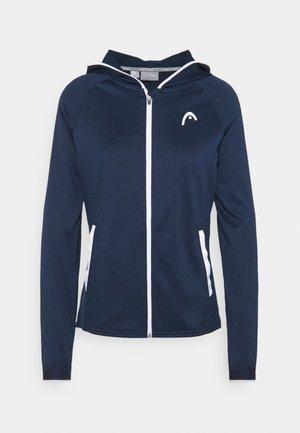 BREAKER HOODIE  - Trainingsvest - dress blue