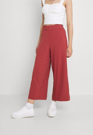 Trousers - rust
