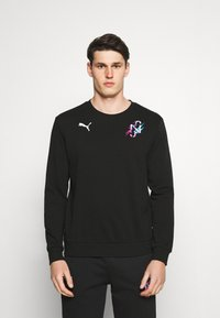 Puma - NEYMAR CREATIVITY CREW - Sweatshirt - black - 0