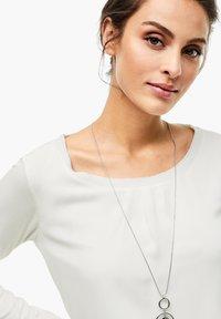 s.Oliver BLACK LABEL - Long sleeved top - soft white - 7