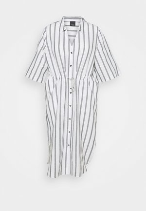 DOLINA - Shirt dress - optic white