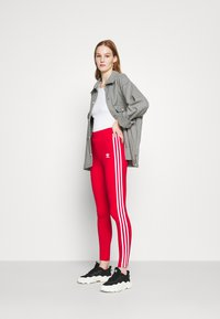 adidas Originals - Leggings - Trousers - scarlet - 1