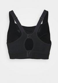Nike Performance - ALPHA BRA - Sport-BH med mycket stöd - black/dk smoke grey - 6
